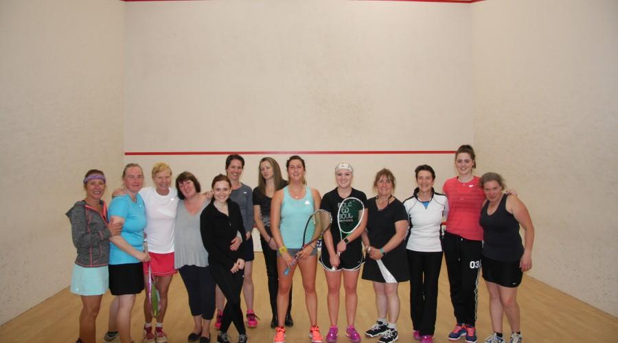 Ladies Squash Day Report & Photos